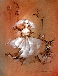 Anne Bachelier Little Girls