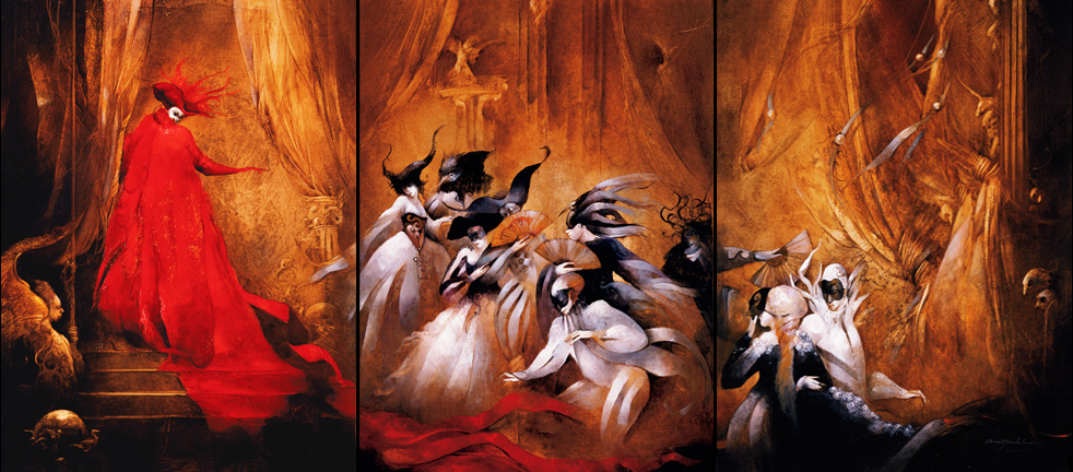 Anne Bachelier: Phantom of the Opera Ball
