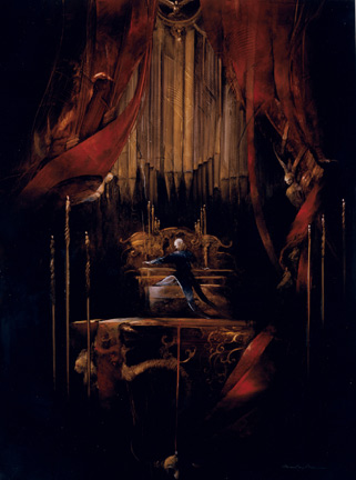 Bachelier Phantom Playing the Organ