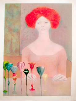 Leonor Fini Woman with Cups